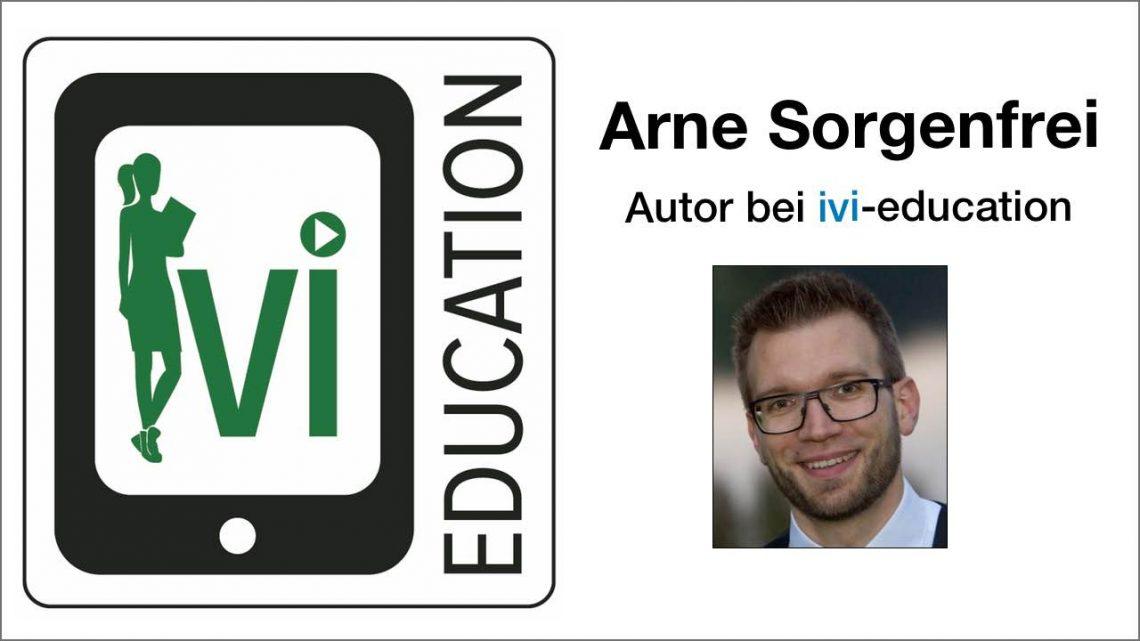 Arne Sorgenfrei stellt sich vor