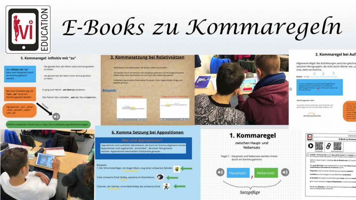 E-Books zu Kommaregeln